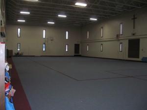 Our massive gym