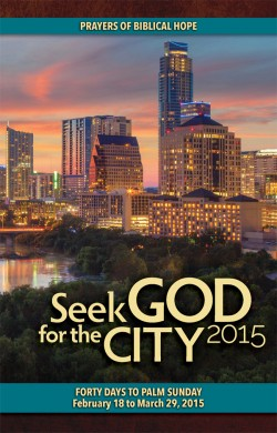 seek god for the city 2015
